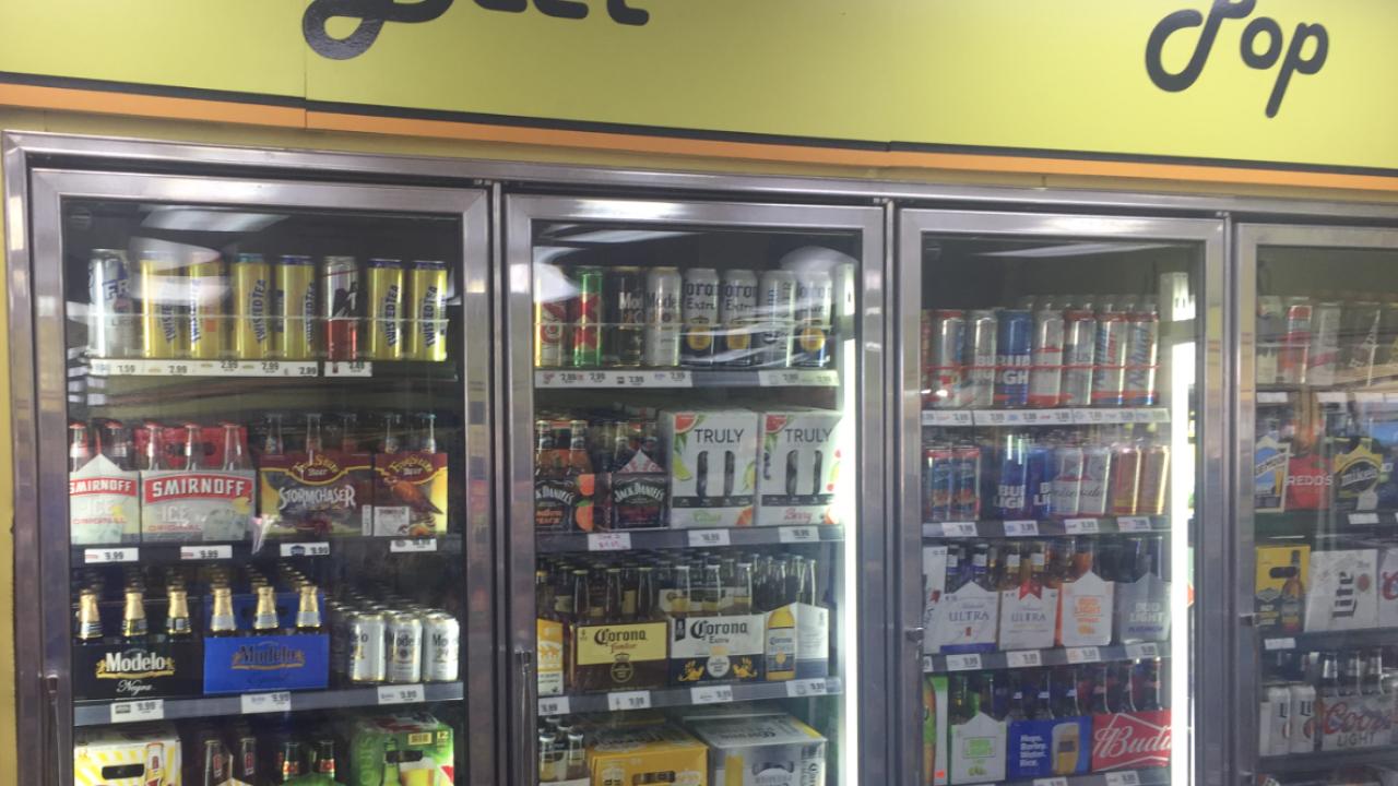 Beer display