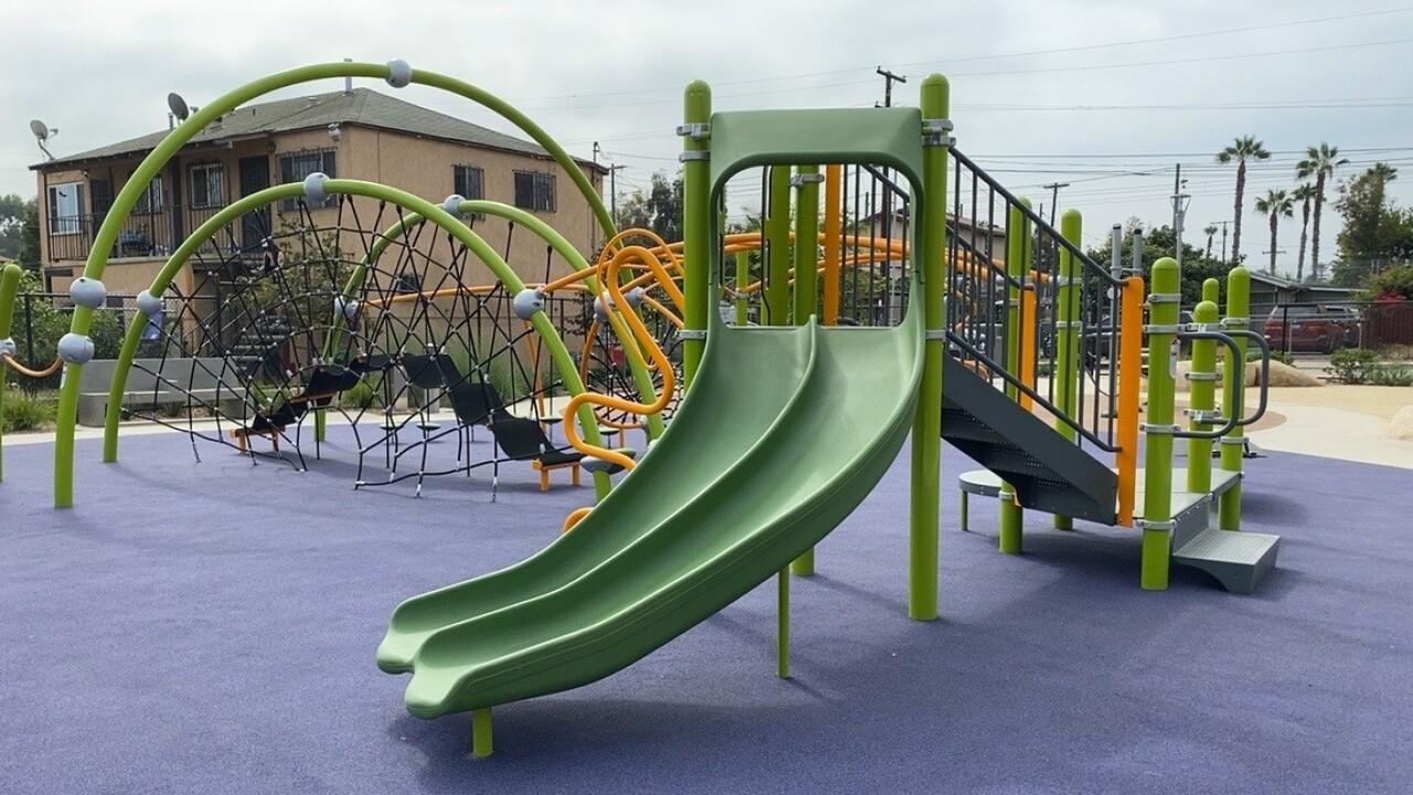 J Street Mini Park in Stockton
