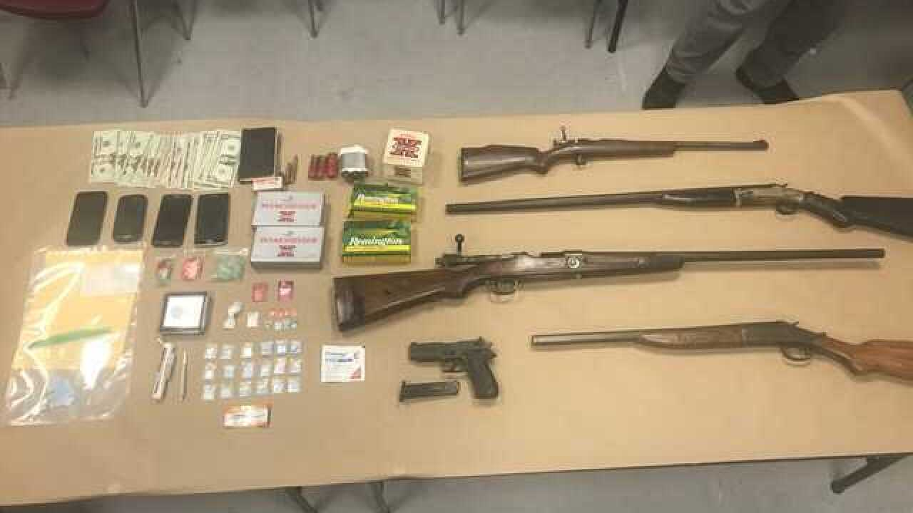 Man arrested for selling narcotics and firearms