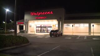 Walgreens robbery attempt in Palm City