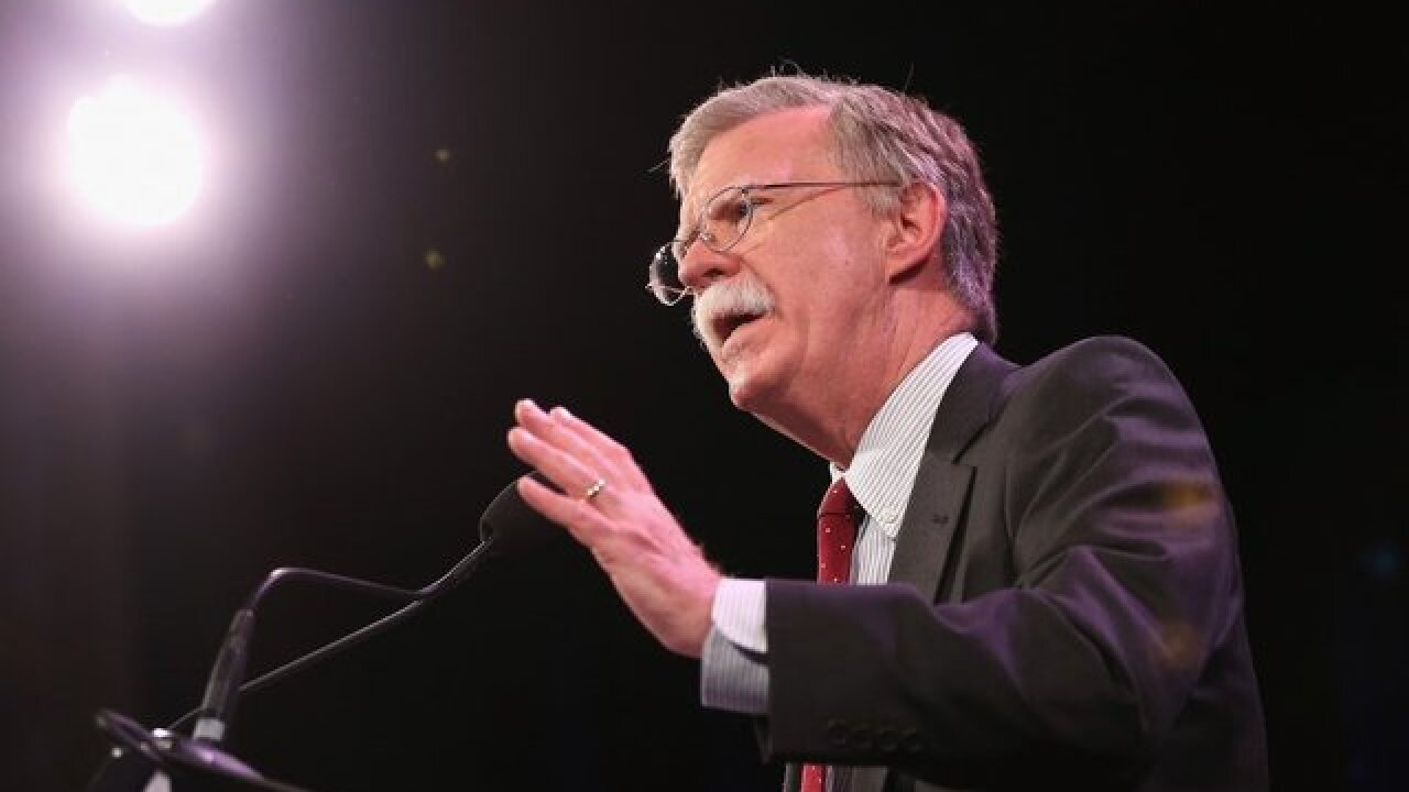 White House: Bolton meets with Russian ambassador