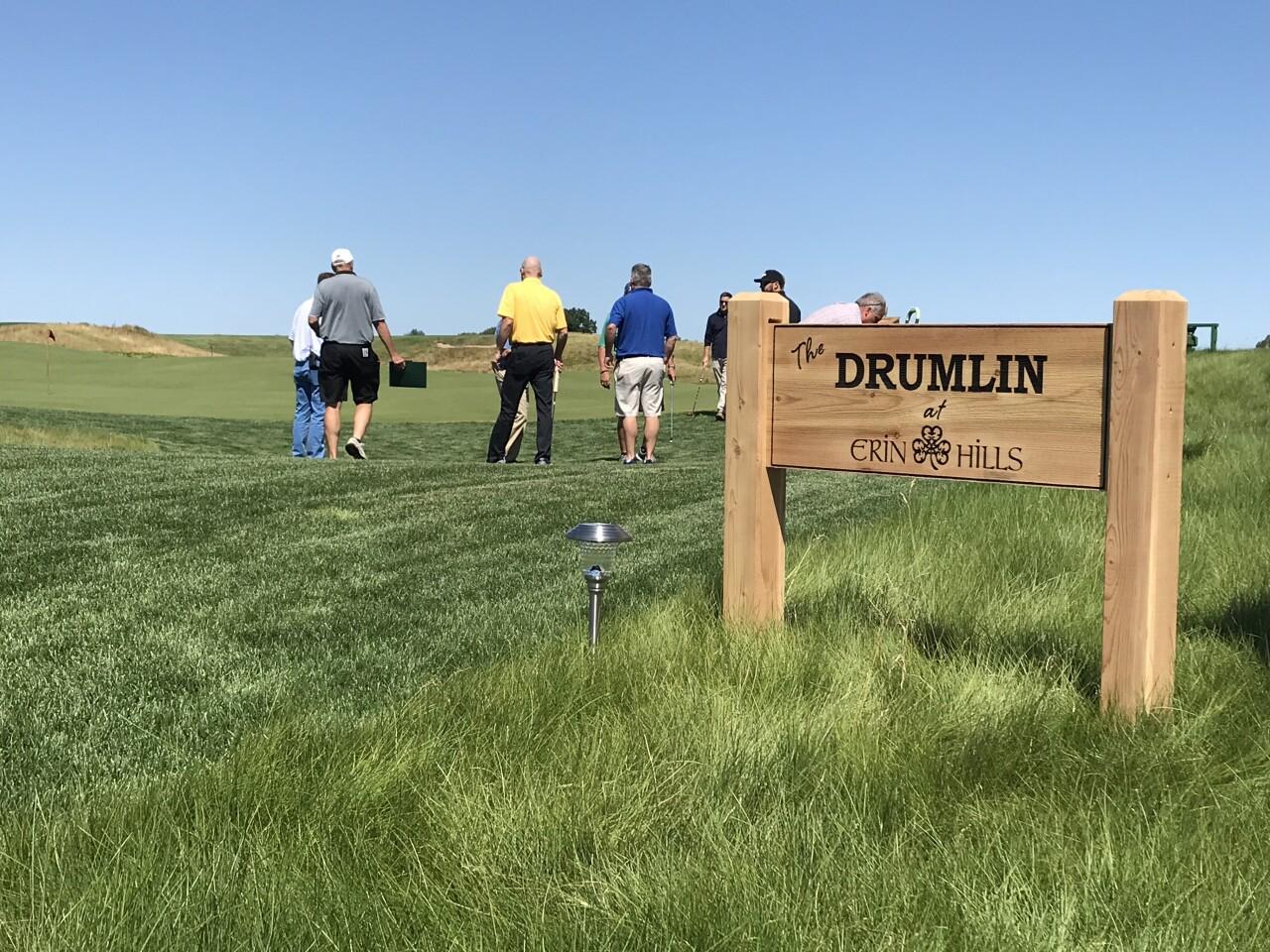 The Drumlin at Erin Hills