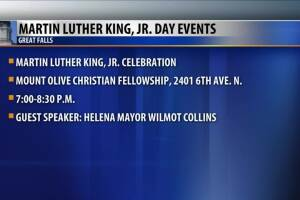 Great Falls MLK Events