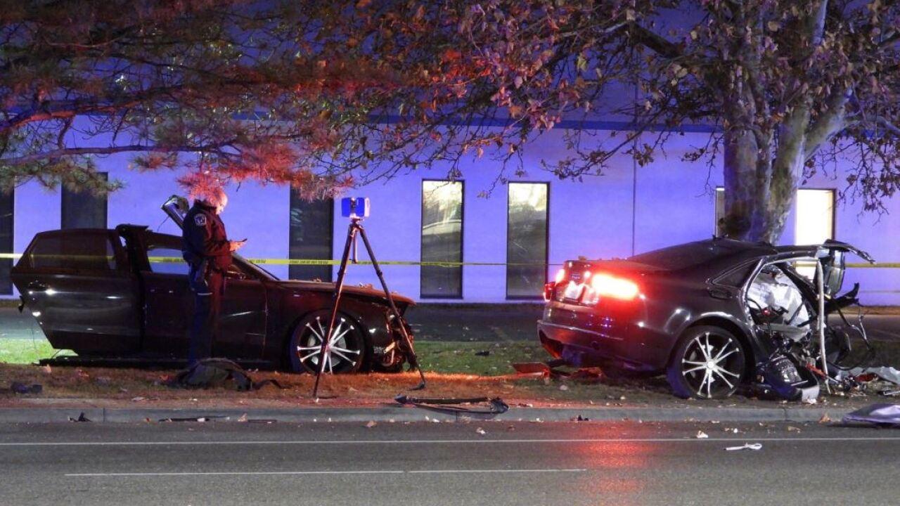 Vehicle splits in half, driver dies in Salt Lake Cityaccident