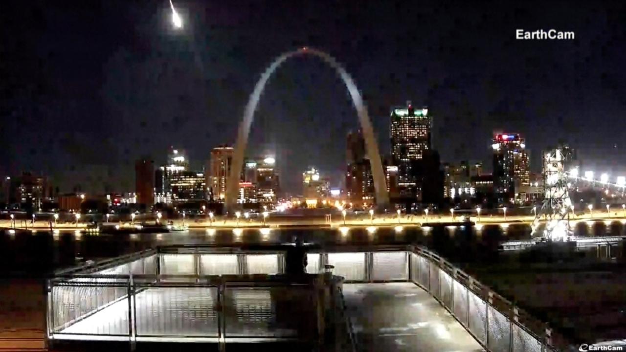 St. Louis meteor
