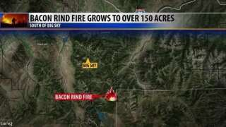 Crews battling Bacon Rind fire near Big Sky