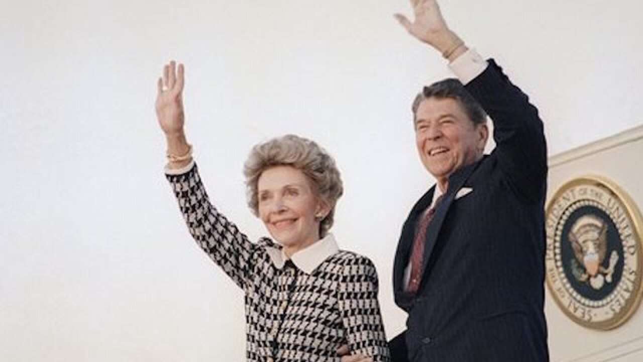 Letter from President Reagan to his wife
