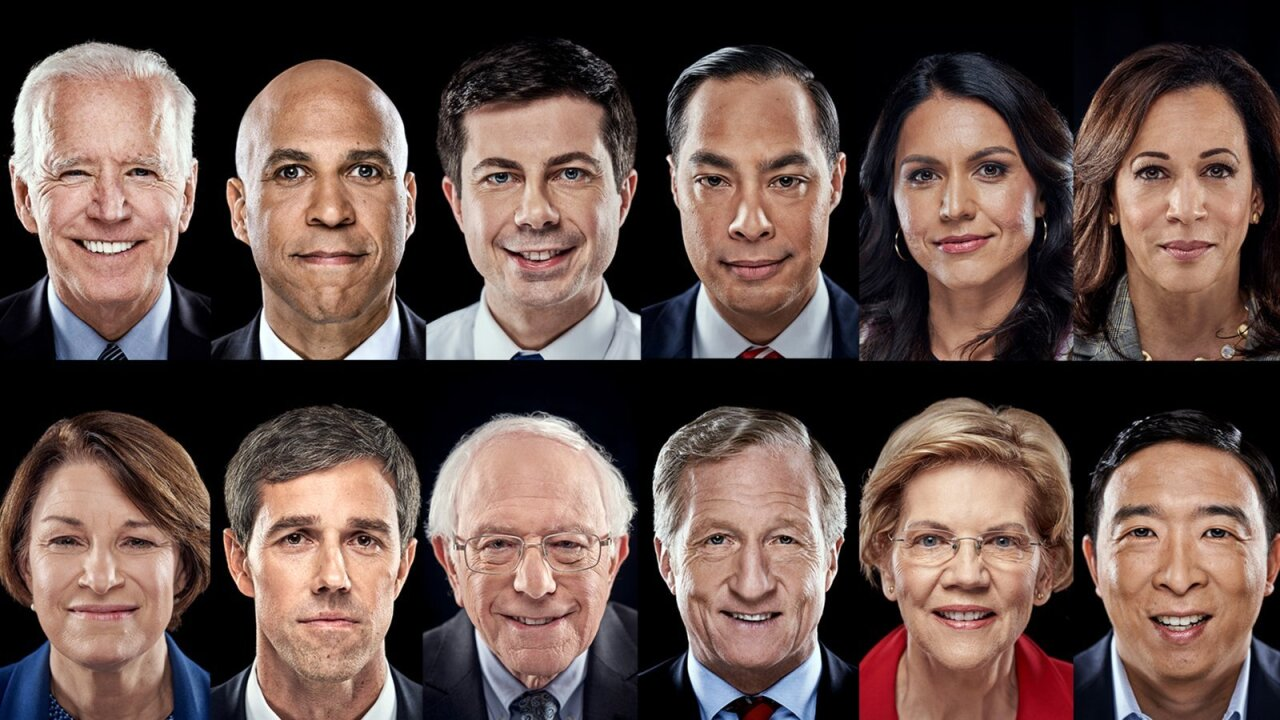 12 Democrats face high stakes on biggest primary debate stage ever