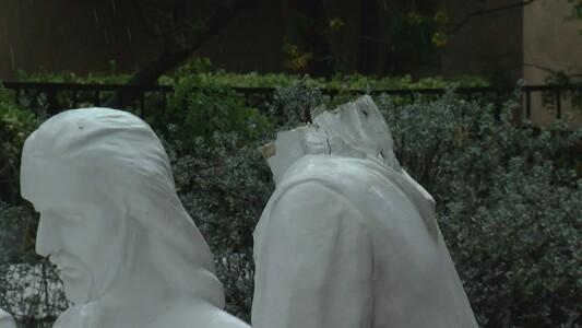 Garden of Gethsemane Vandalized