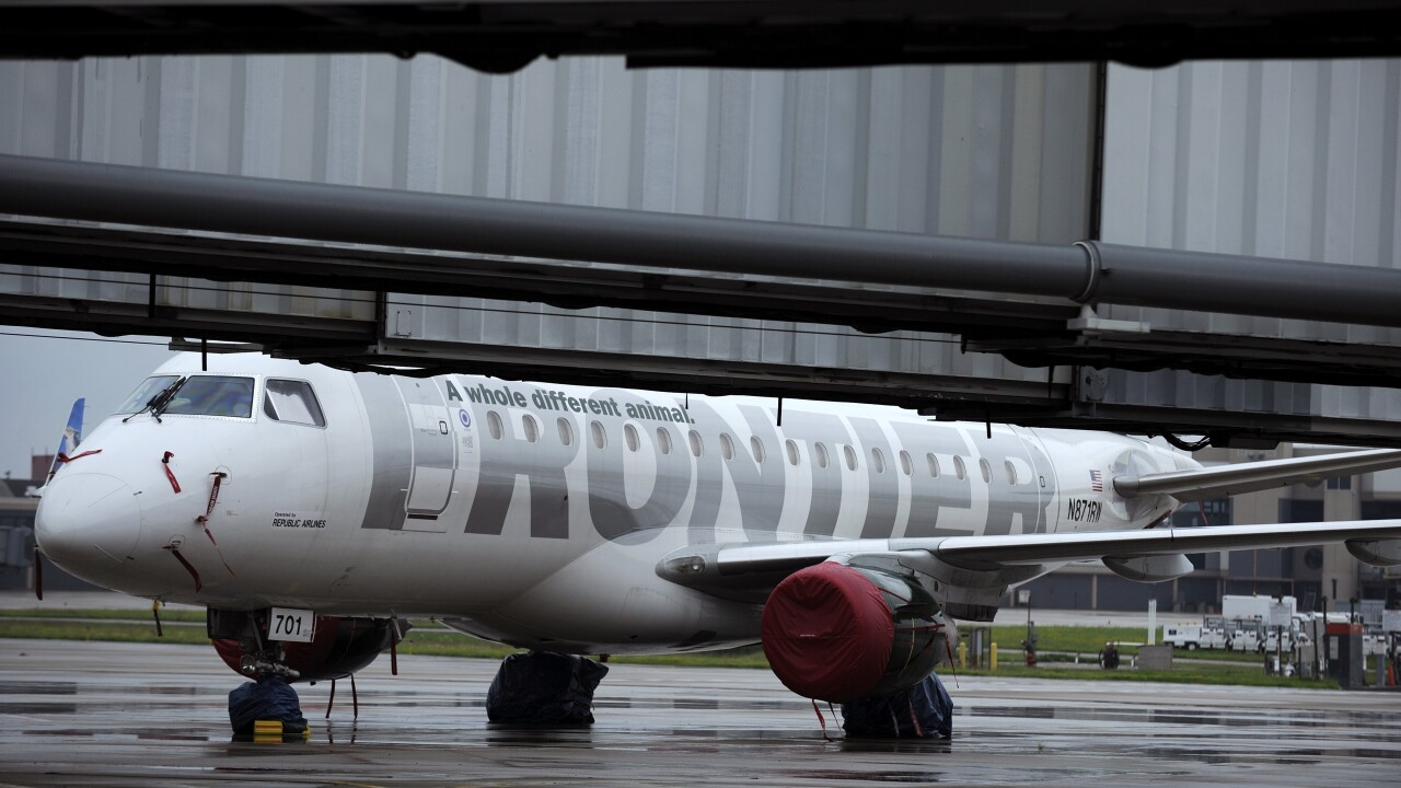 Frontier Airlines announces two new routes from Norfolk International Airport