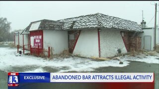 Abandoned South Salt Lake bar a haven for illegal activity