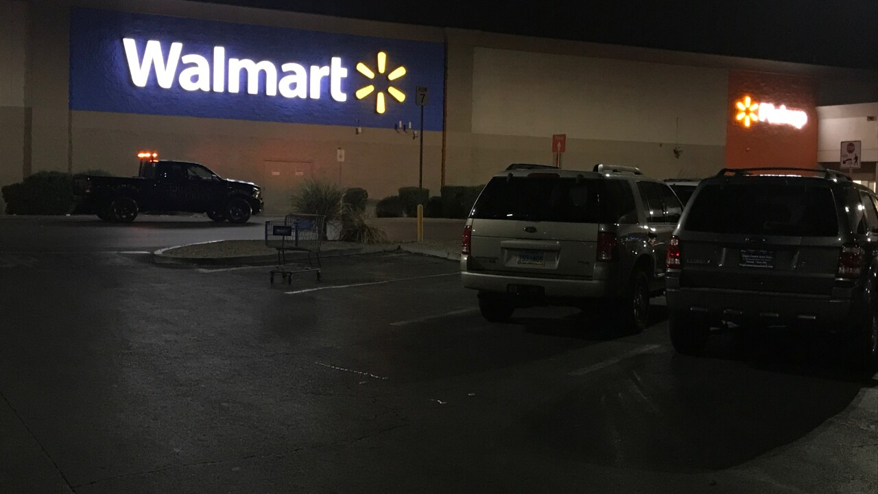 These are photos of a Walmart located in North Las Vegas near Clayton and Craig as seen in Sept. 2020