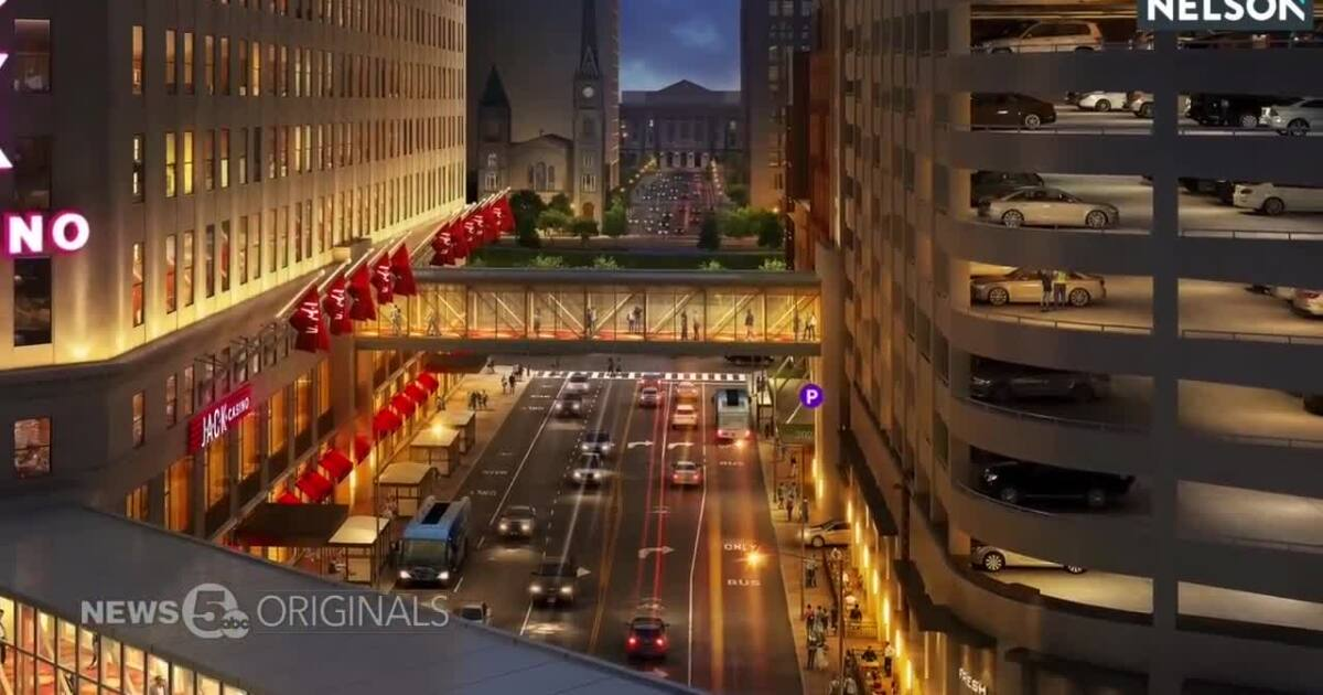 Jack Casino Cleveland looks to add second pedestrian bridge over Ontario Street