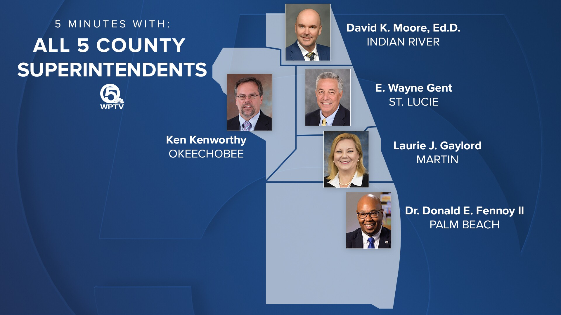 5 Minutes With: All 5 County Superintendents