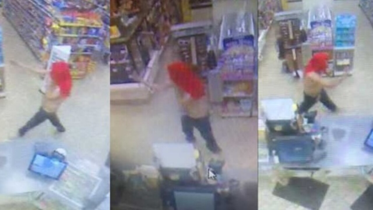 Man reportedly attempts to rob store with finger