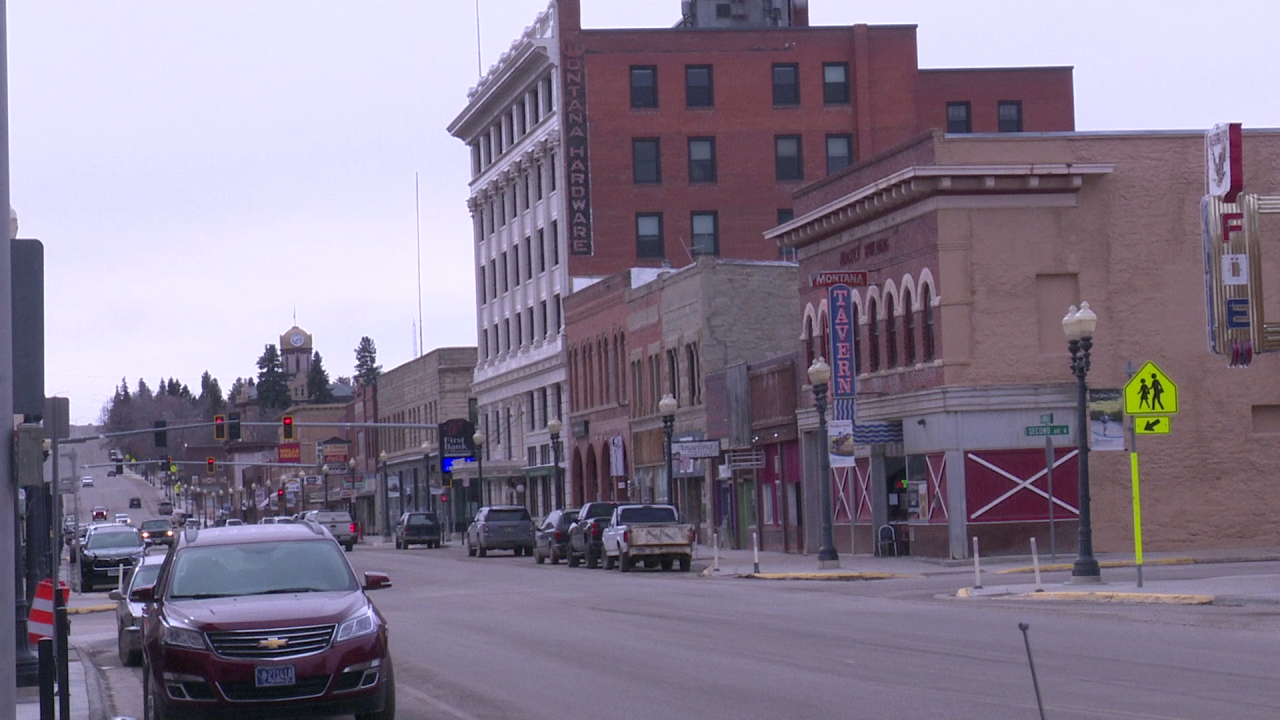 Lewistown Montana (March 2021)