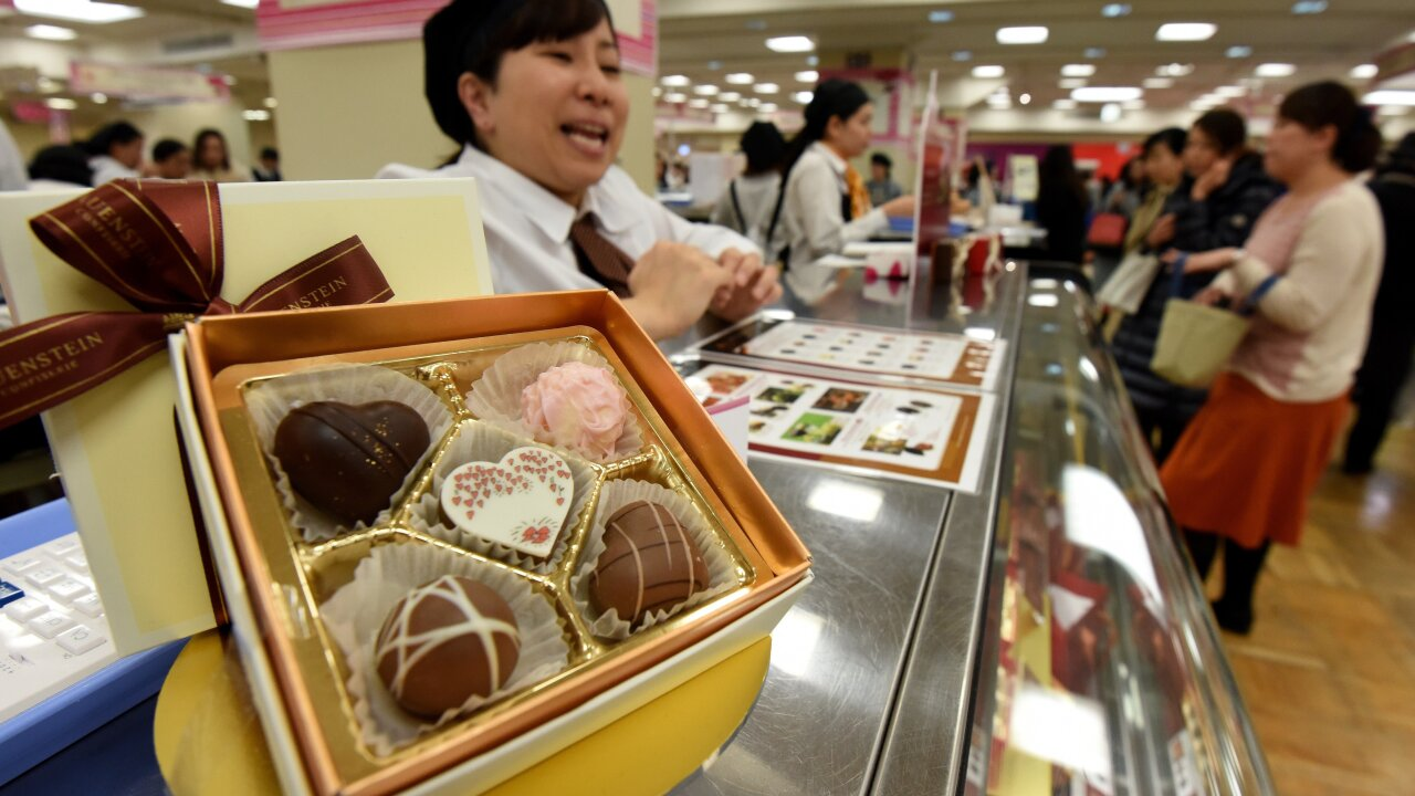 Why Japanese women rebel against Valentine's day, but still buy chocolate