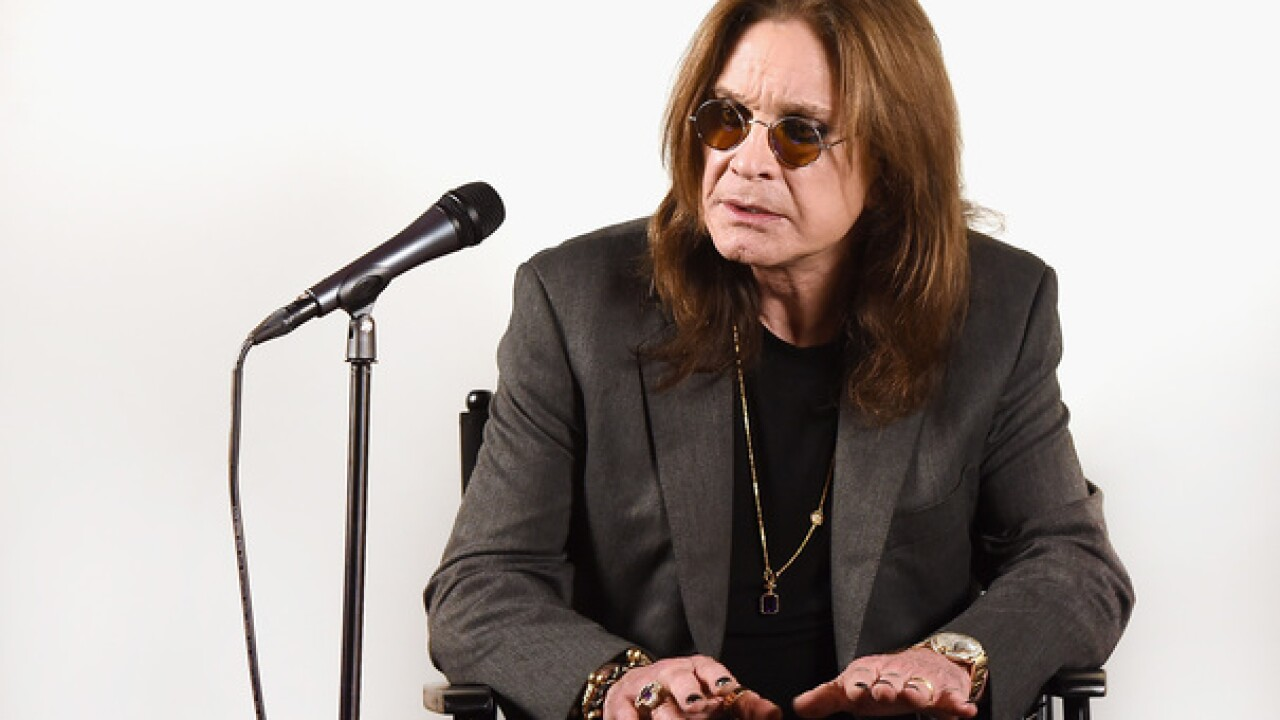 Ozzy Osbourne cancels 'No More Tours 2' due to hand injury