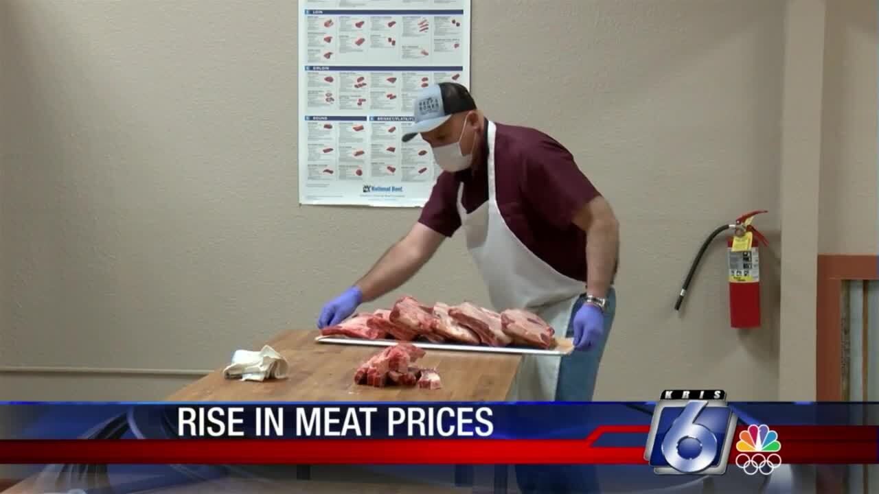 Soaring meat prices