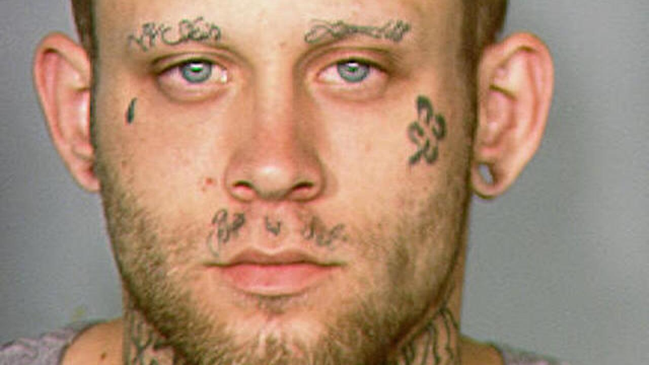 Las Vegas judge orders man cover his swastika tattoo for trial