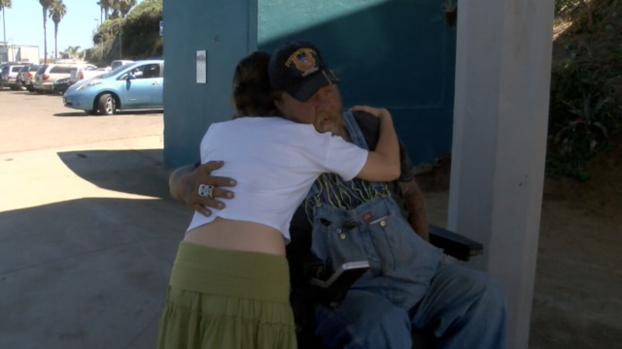 Homeless heroes help victim find her stolen bike