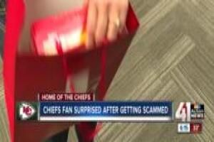 Chiefs fan scammed out of tickets gets Red Friday surprise