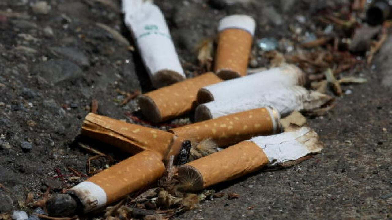 Cigarette butts are the most littered item in the world — and the