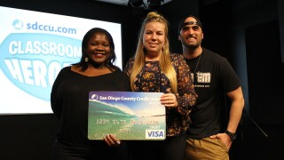 SDCCU Classroom Heroes: Kristin Collins of Heritage Digital Academy Charter Middle School