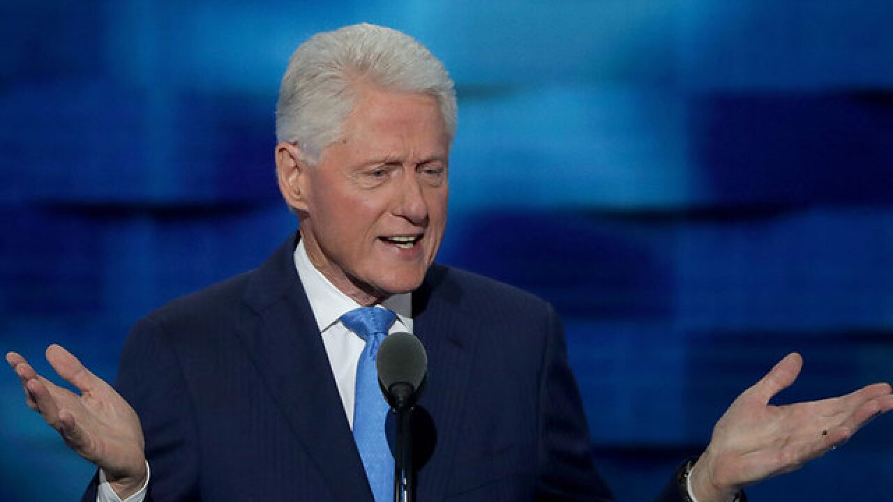 Hillary's nomination, Bill's heartfelt talk top off well-crafted evening