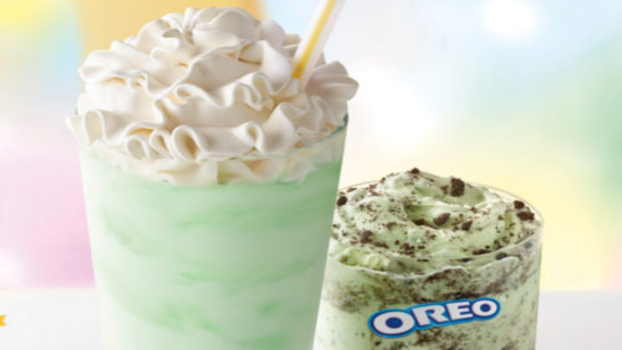 McDonald's Is Making A New Oreo Shamrock McFlurry
