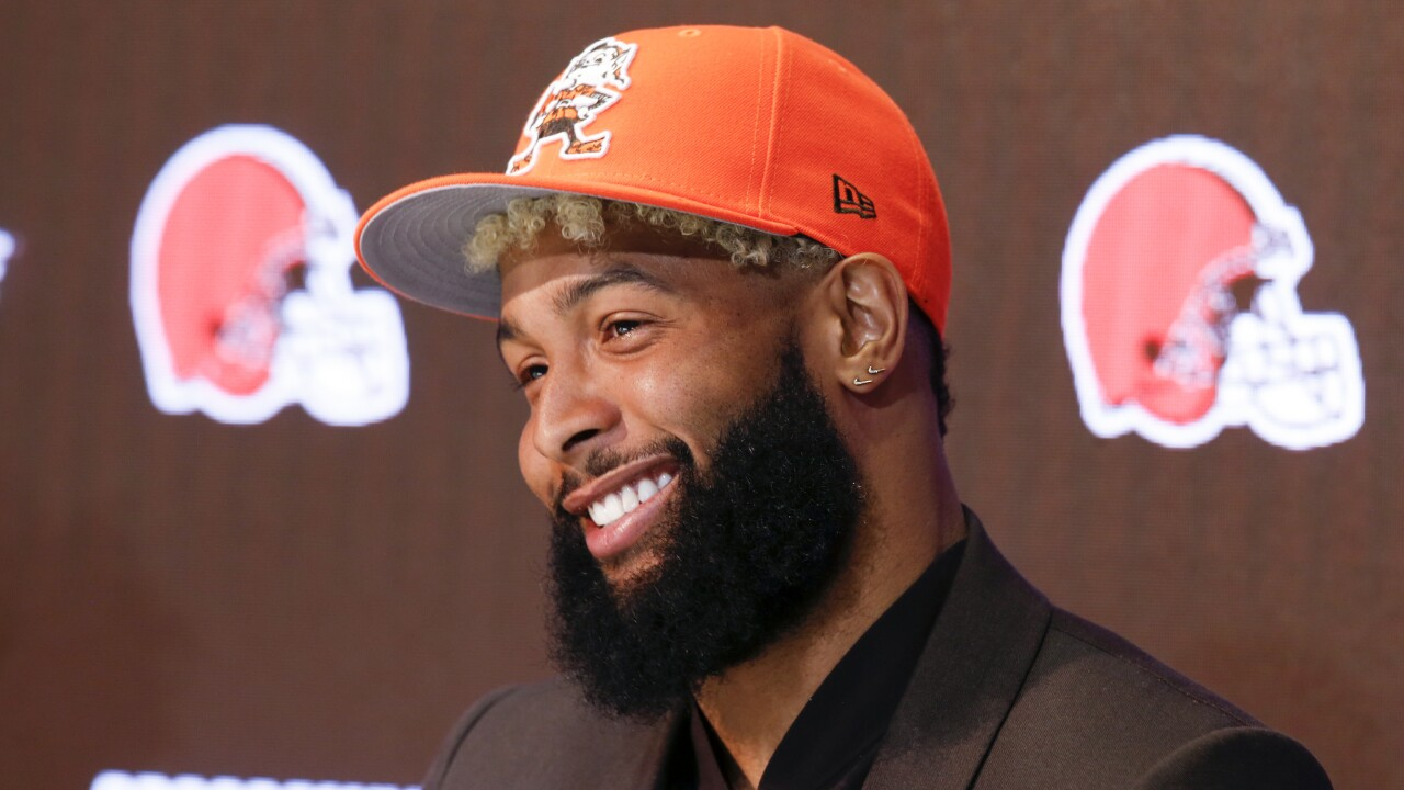 Odell Beckham Jr.'s customized Rolls Royce is every Cleveland Browns fan's dream