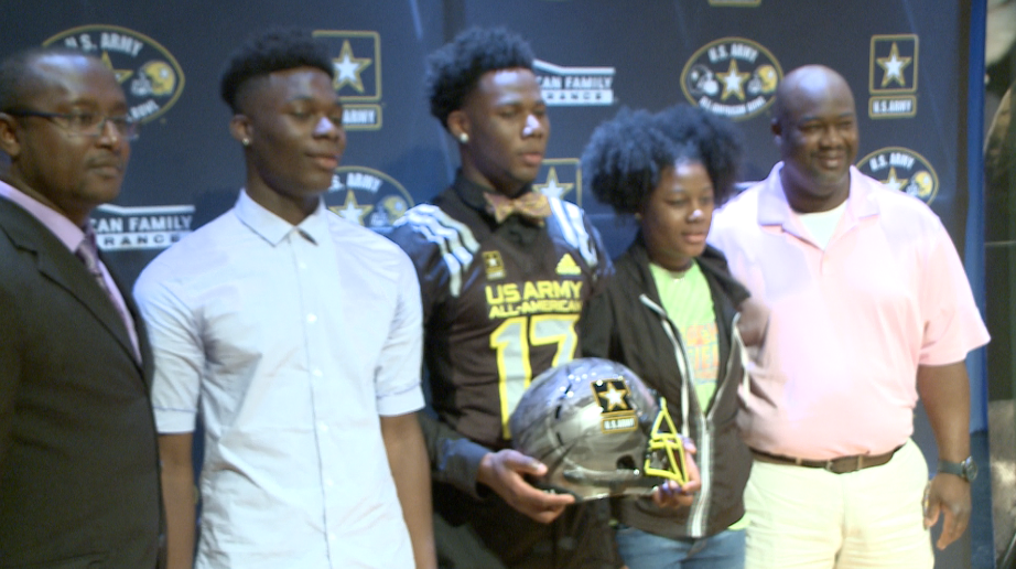 Photos: Indian River's Devon Hunter honored as a U.S. Army All-American