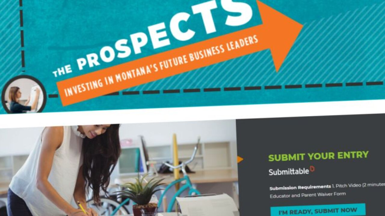Montana high-school students can win prizes in entrepreneurship contest