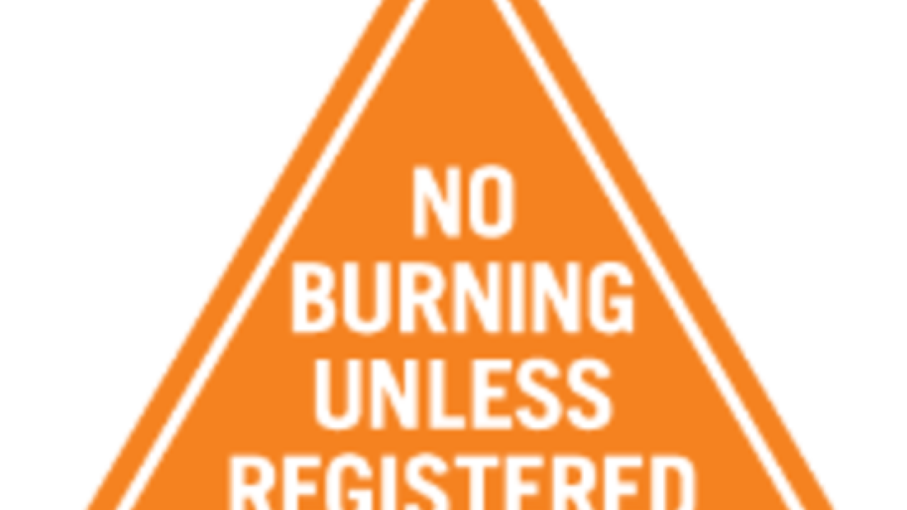 First fireplace burning prohibition of the season in southern Kern County mountain areas
