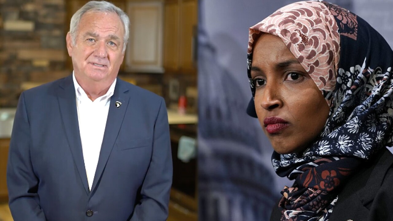 George Buck Jr. and Ilhan Omar
