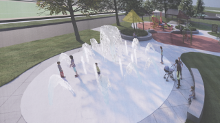 A new splash pad is coming to Toan Park