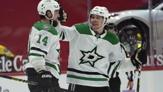 Jamie Benn Stars Red Wings Hockey