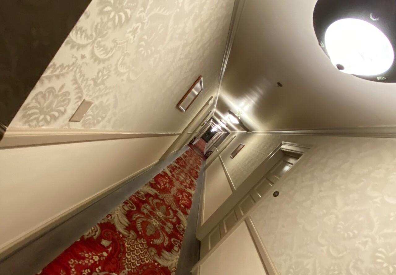 Fourth floor hallway