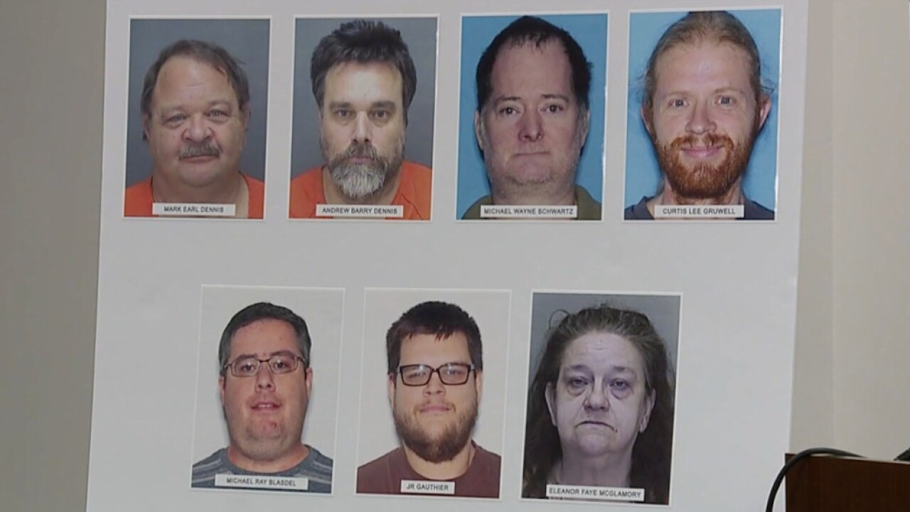 Arrests made in statewide human trafficking operation