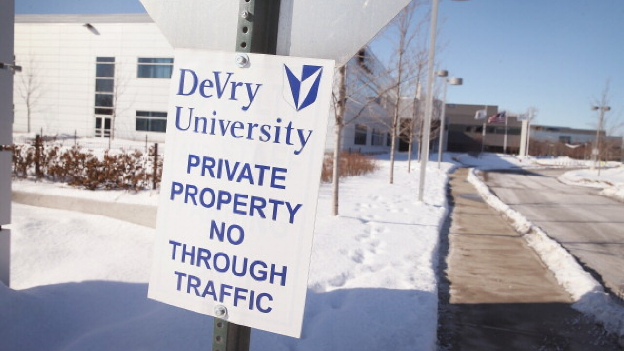 DeVry will refund $100 million to students to settle FTC lawsuit