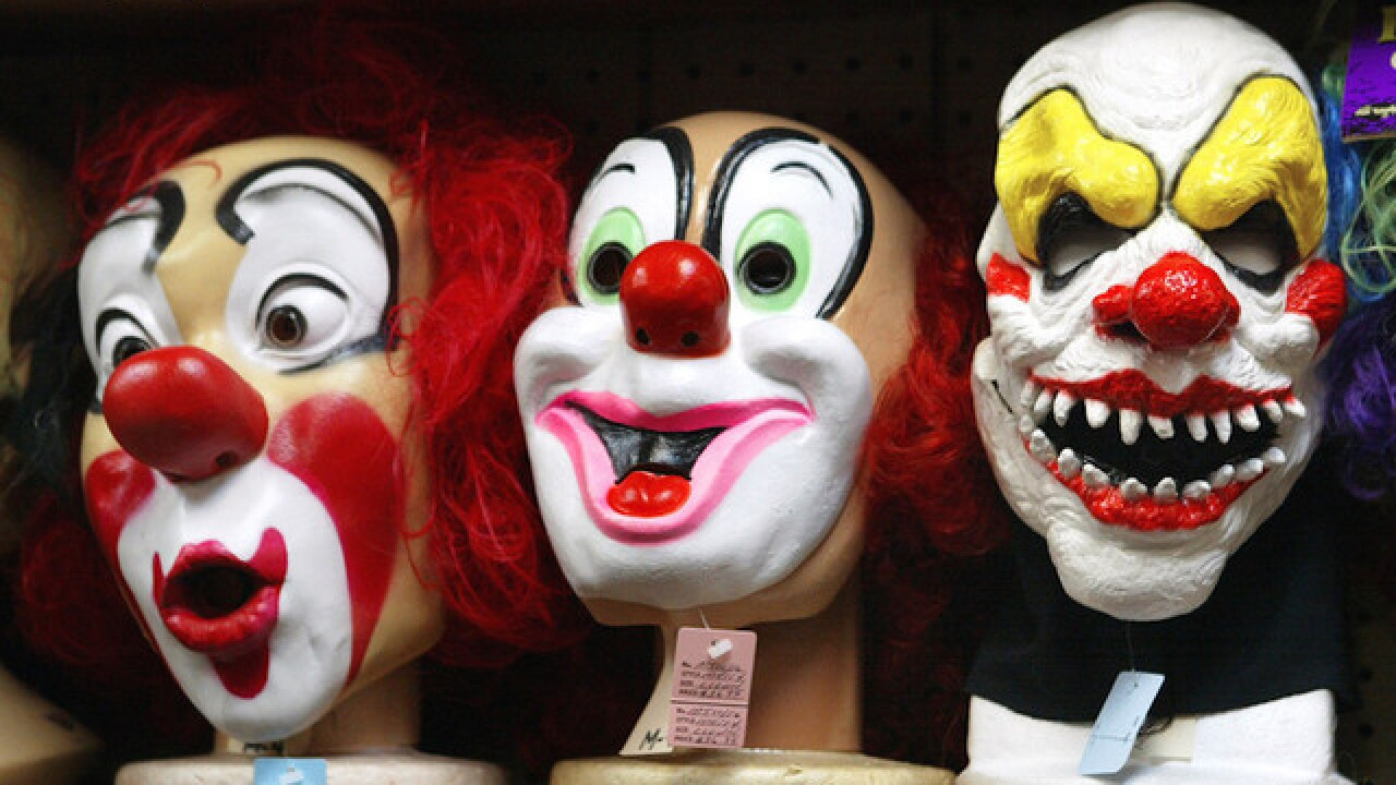 Cops plan to charge dad in scary clown mask who followed bus