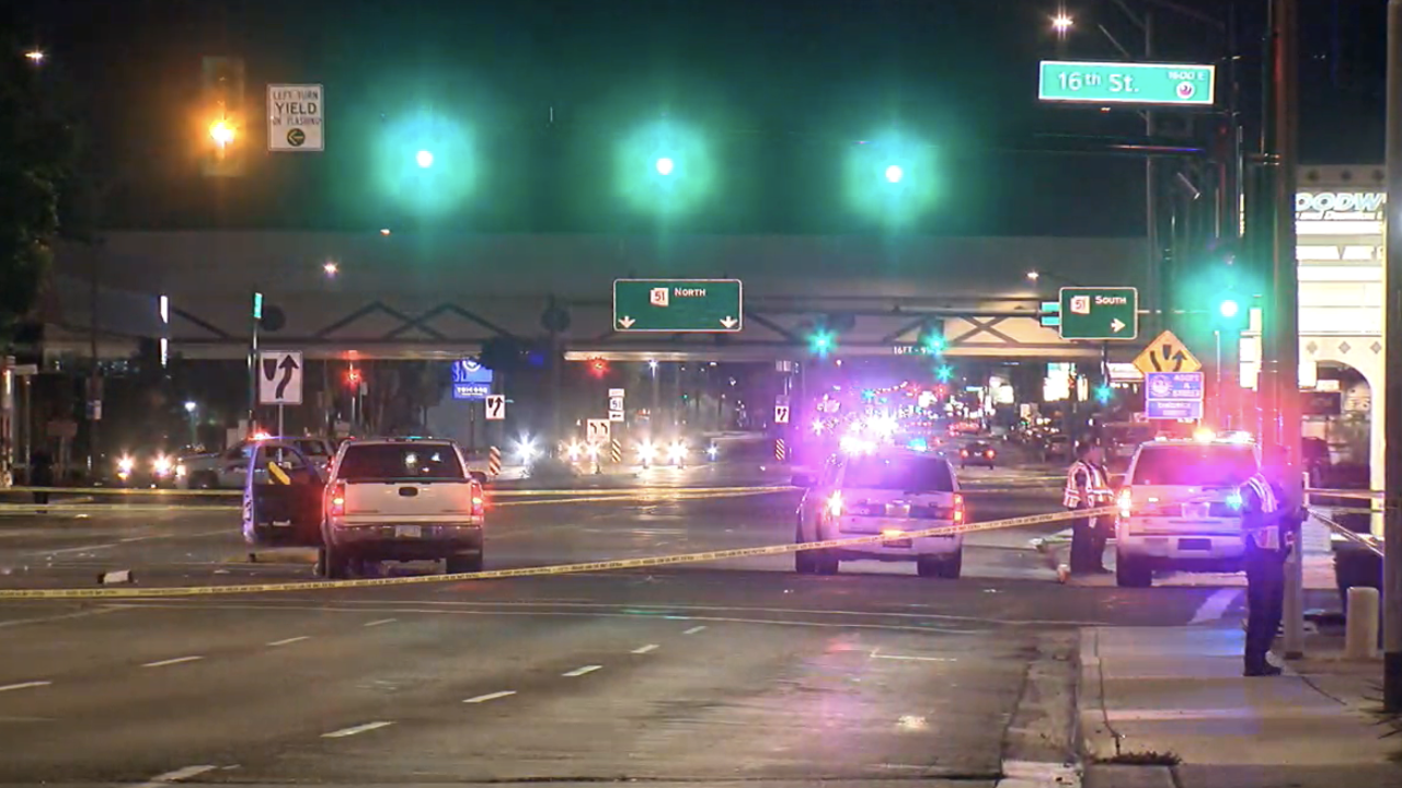 Police have released the name of a woman who was fatally struck by a pickup truck while crossing a Phoenix street.