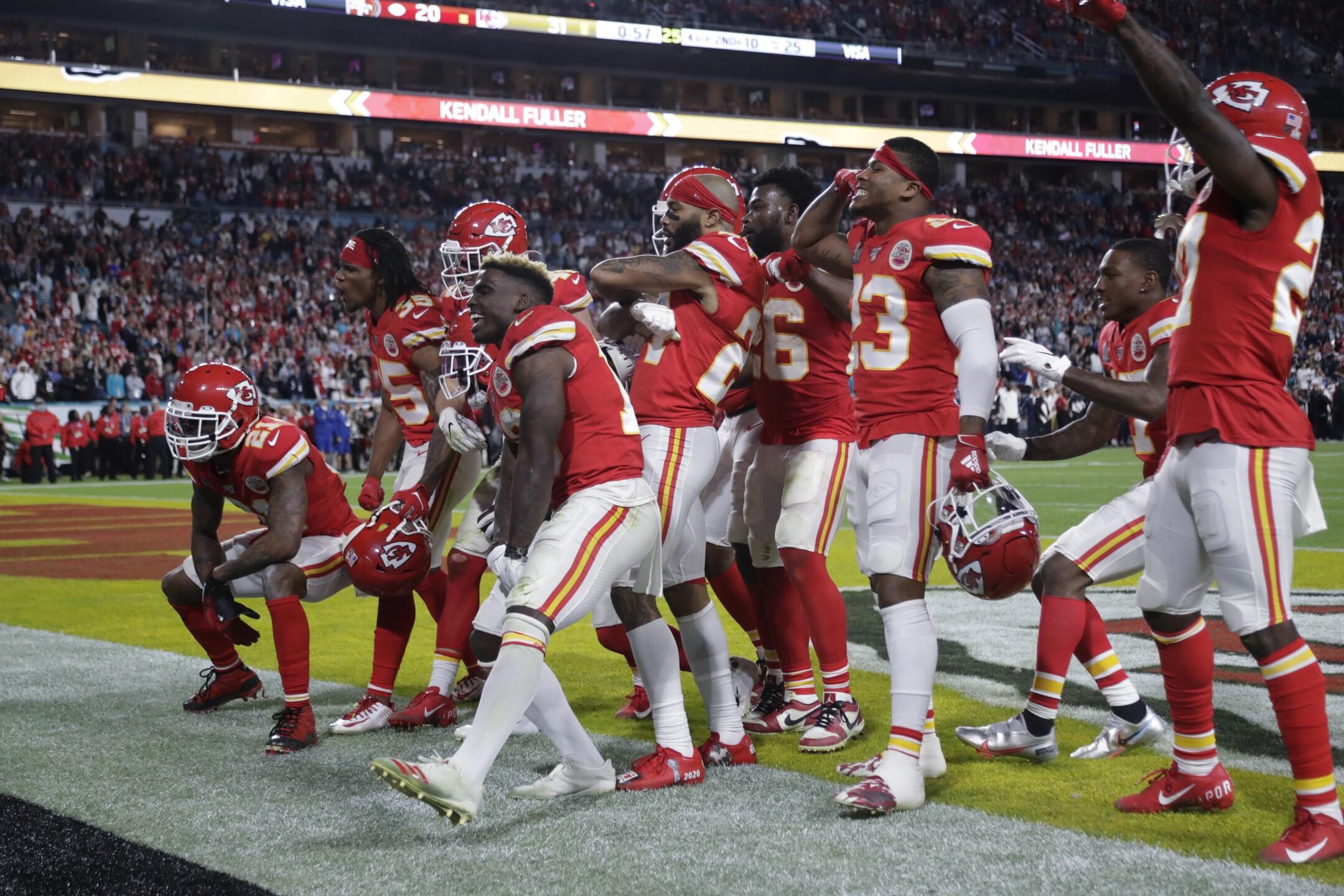 Images Chiefs Celebrate Super Bowl Championship