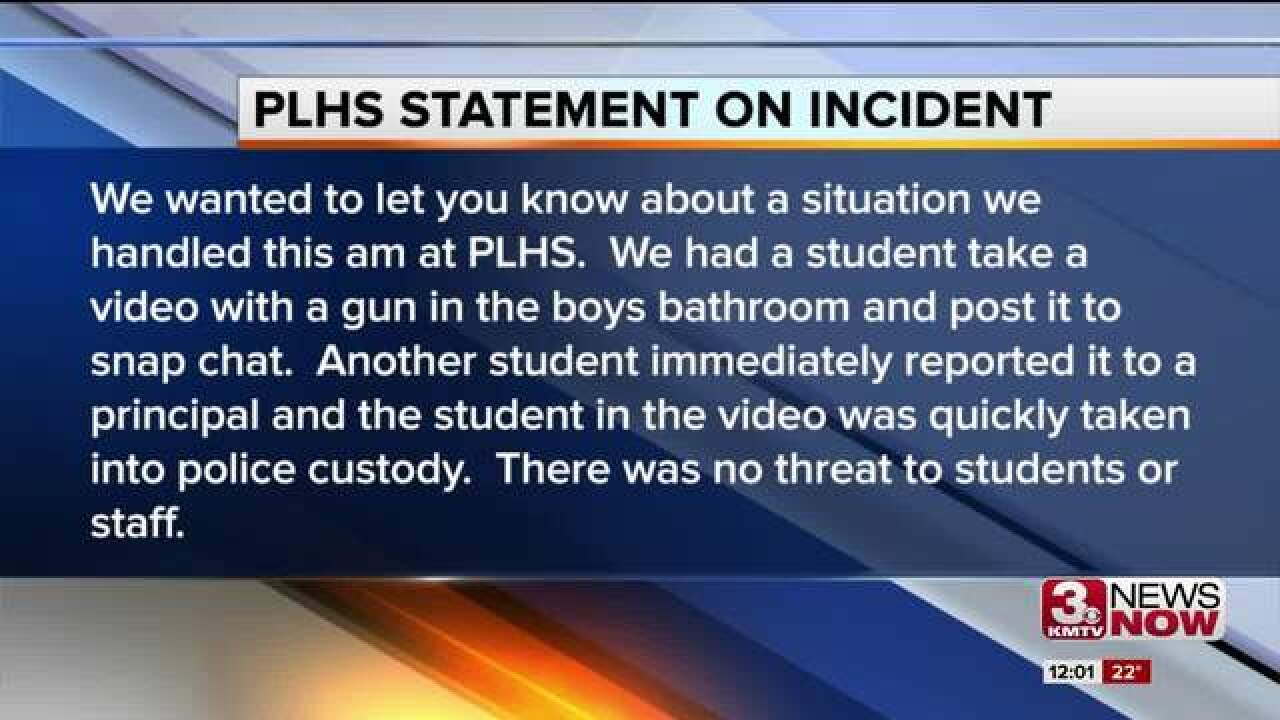 Gun found at Papillion-La Vista Monarchs high
