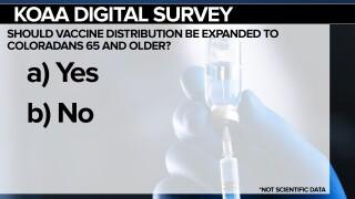 KOAA survey vaccine distribution