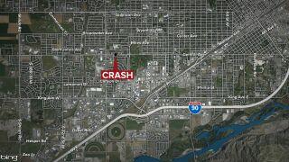Pedestrian dies after being hit by a pickup truck in Billings