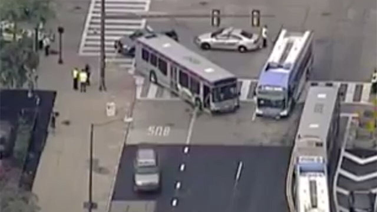 Bus driver suspended after hitting 61-year-old man crossing the street in Public Square