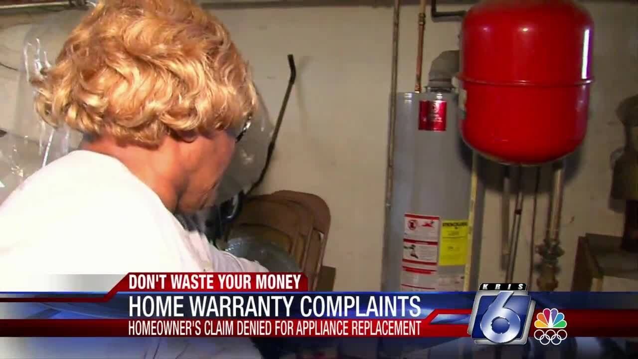 Don't Waste Your Money:  Home warranty complaints