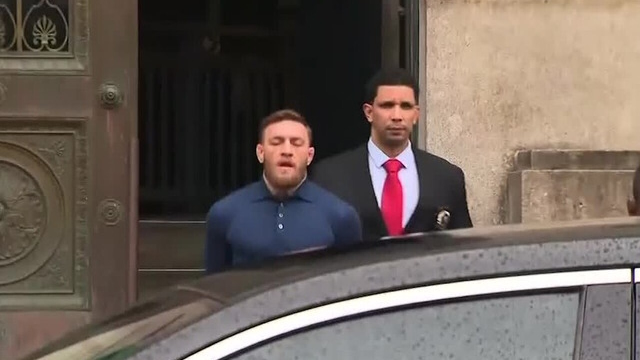 Cops want to talk to Conor McGregor