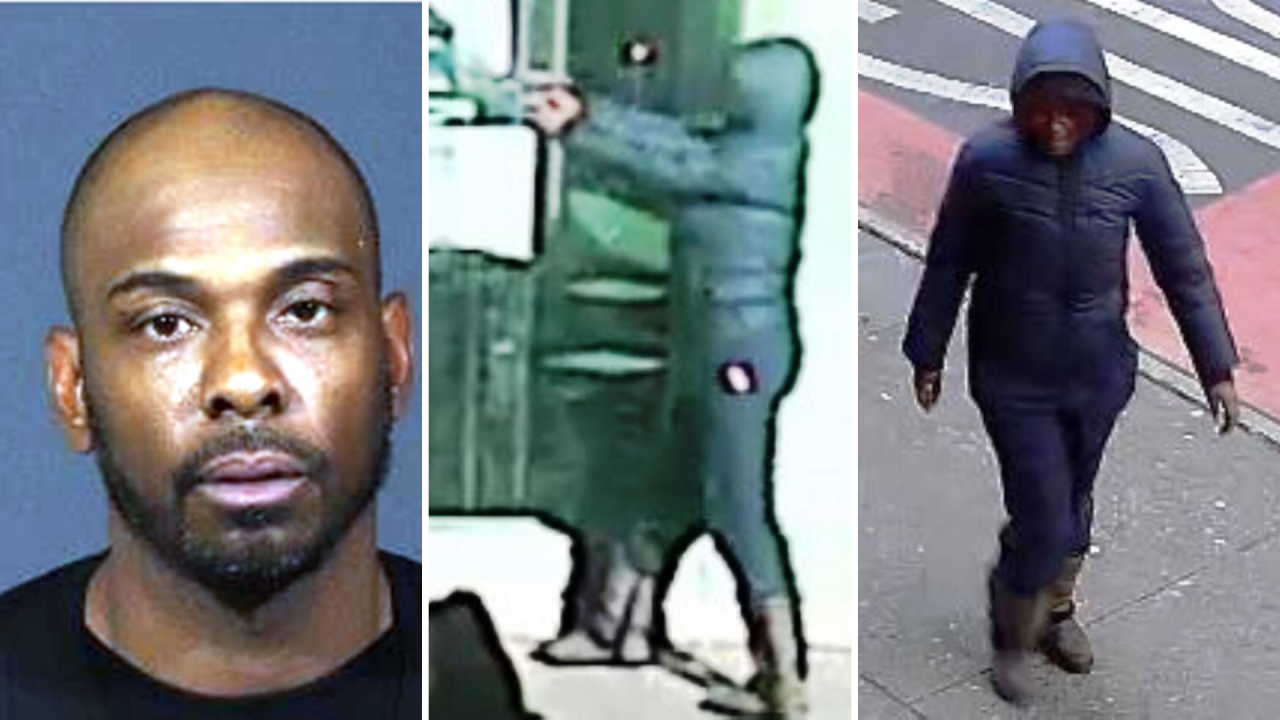 Police said Saturday they're searching for a man and woman involved in a shooting in Hell's Kitchen on Friday afternoon.